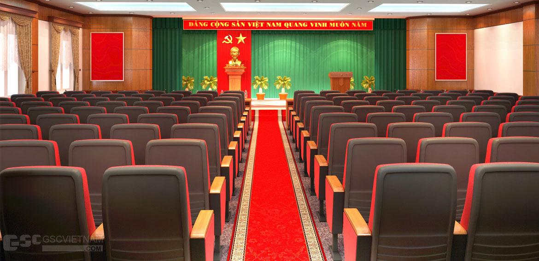 Hội trường UBND Huyện Lạc Thủy - Ảnh 2