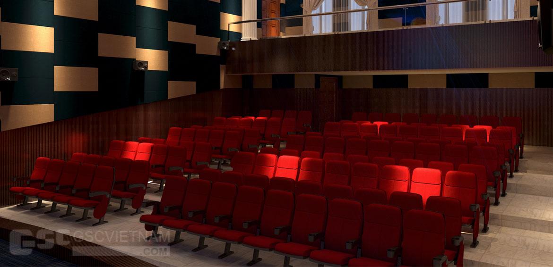 ghế rạp chiếu phim - ghế hội trường GSC Việt Nam
