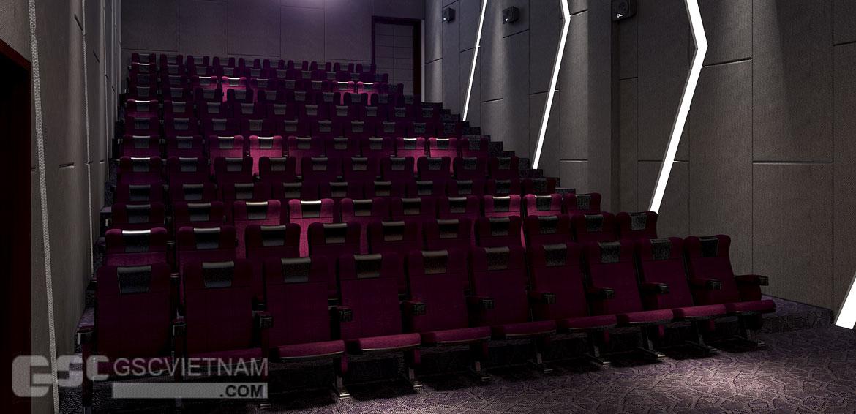 thiết kế nội thất rạp chiếu phim